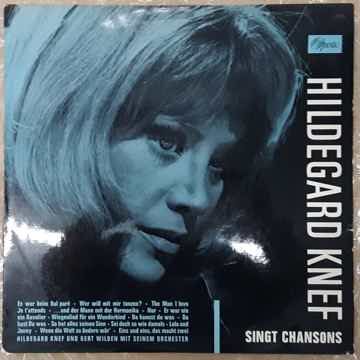 Hildegard Knef Singt Chansons