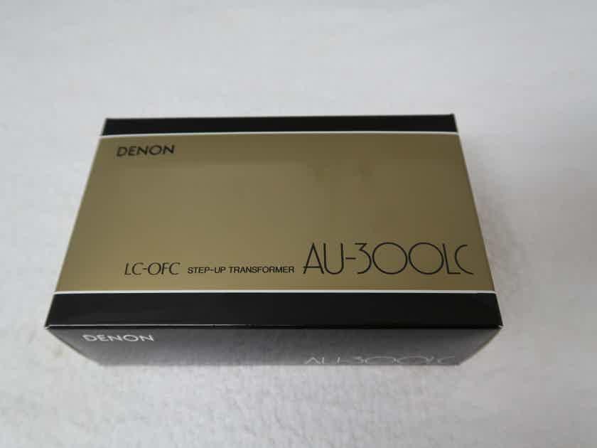 Denon AU300LC moving coil step-up transformer - new