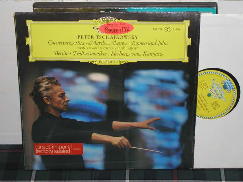 Von Karajan/BPO - Tchaikovsky 1812  LP DGG 139 029 German Tulip label from '60's