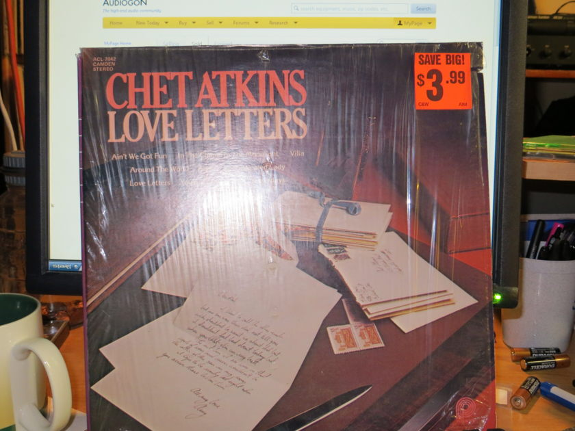 CHET ATKINS - LOVE LETTERS