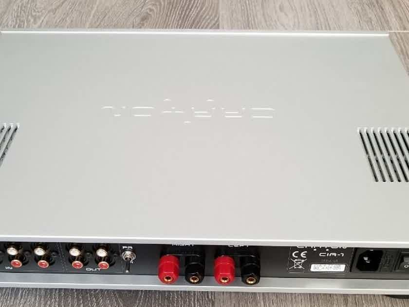 Crayon Audio CIA-1 Integrated Amp Silver Made in Germany ~ Like New