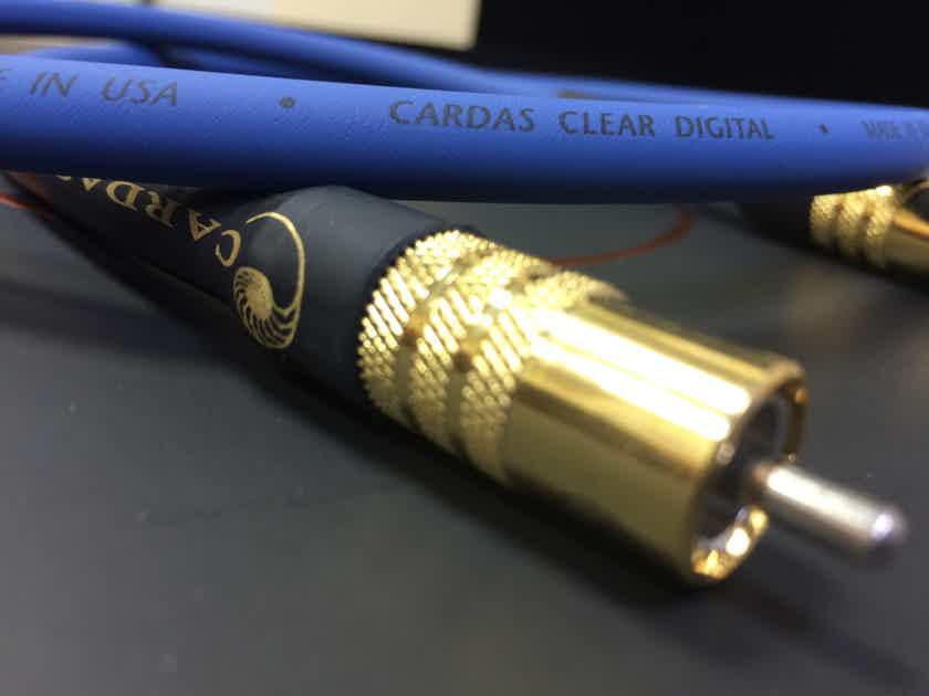 Cardas Audio CLEAR DIGITAL 1.0M SPDIF RCA
