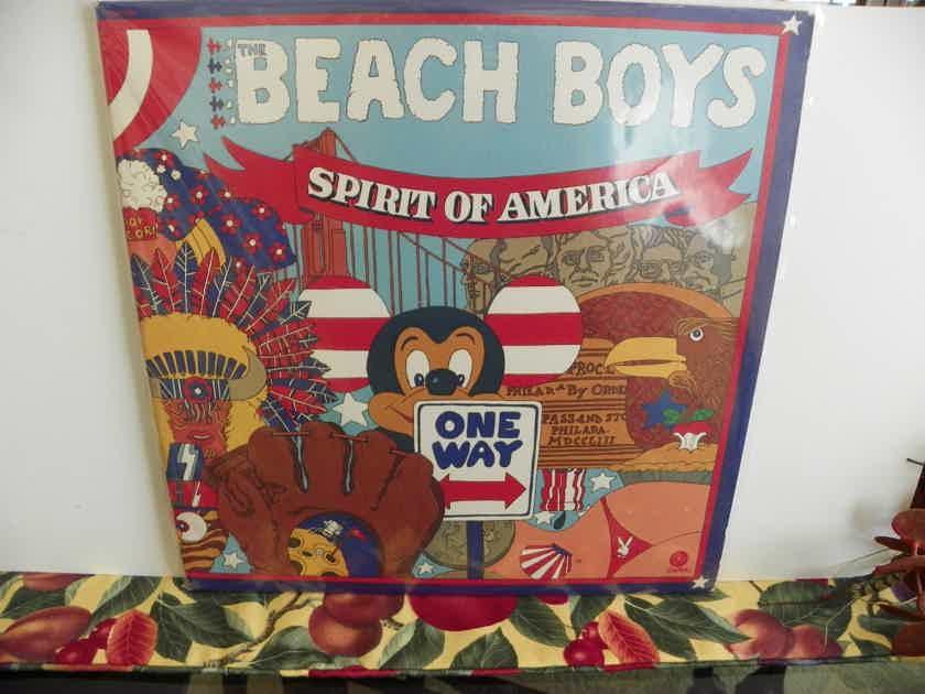 THE BEACH BOYS - SPIRIT OF AMERICA 2 LPS