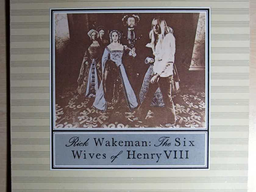 Rick Wakeman - The Six Wives Of Henry VIII - 1984 A&M Records SP-3229