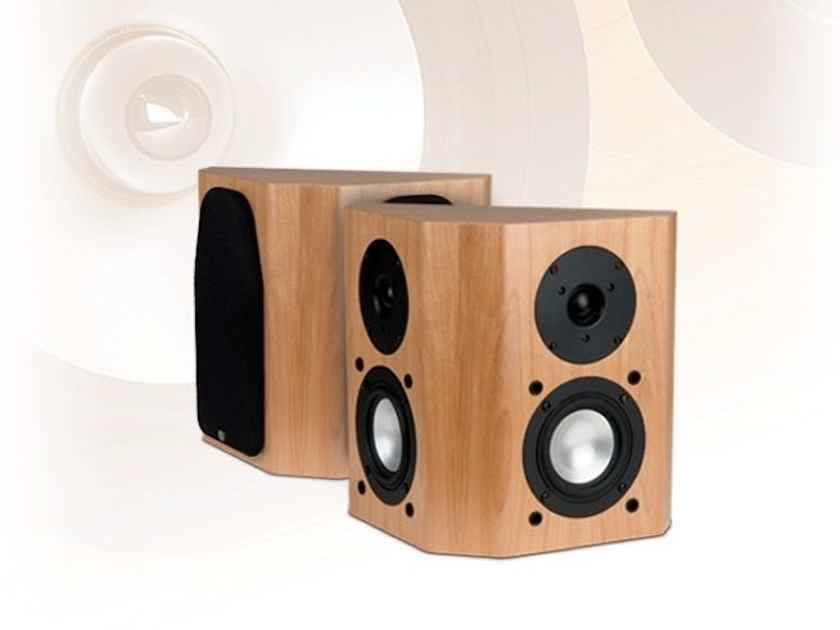 RBH 44-SE On-Wall Surround Speakers Walnut Pair; Signature Classic 44SE (New) (13152)