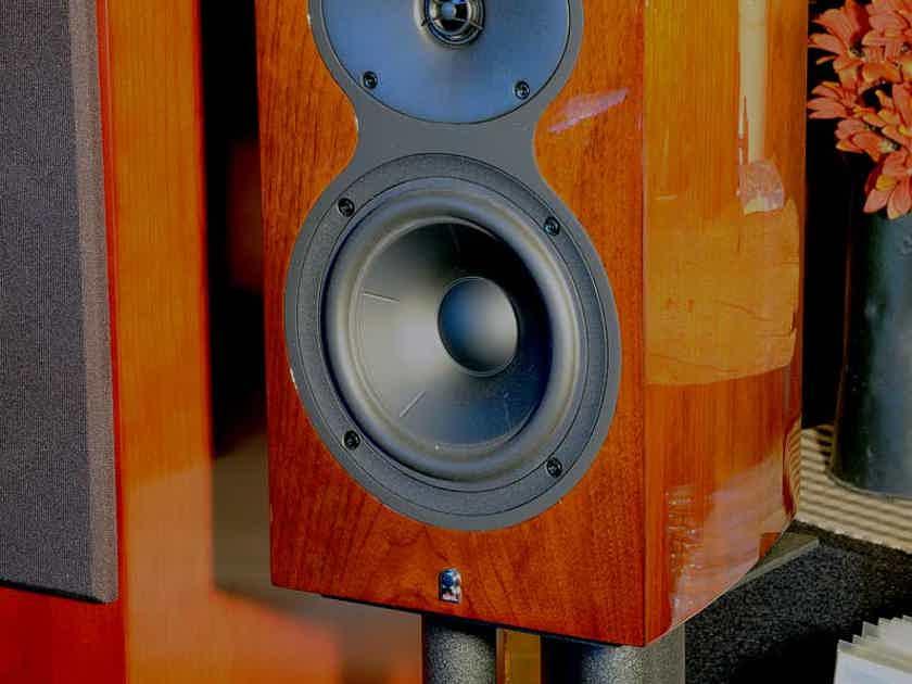 One Pair Revel M106 Monitors in Walnut finish