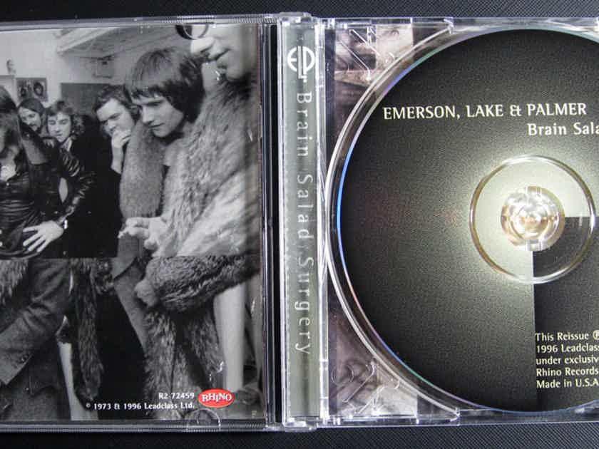 Emerson, Lake & Palmer - Brain Salad Surgery - Remastered Rhino Records R2 72459