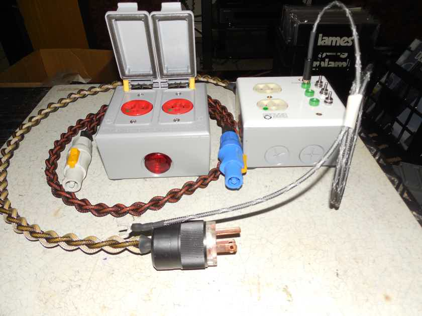 Black Shadow 2+2-SG POWER POD ISOLATION SYSTEM