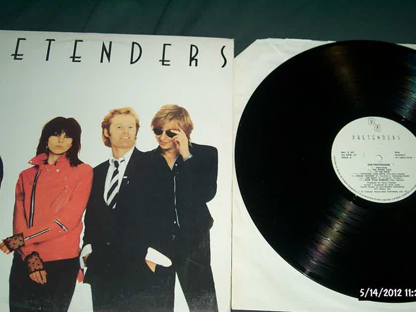 Pretenders - S/T Real Records Portugal Vinyl  LP NM Import  One Page Insert