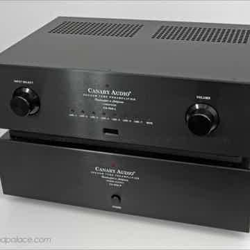 Reference dual chassis preamp