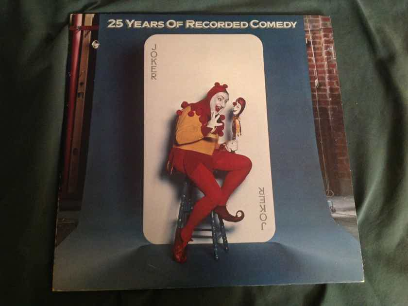 Lenny Bruce Cheech & Chong Firesign Theatre  25 Years Of Recorded Comedy