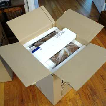 Shipping cartons - double walled with foam inserts
