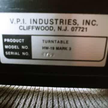 VPI Industries HW-19 mkIII
