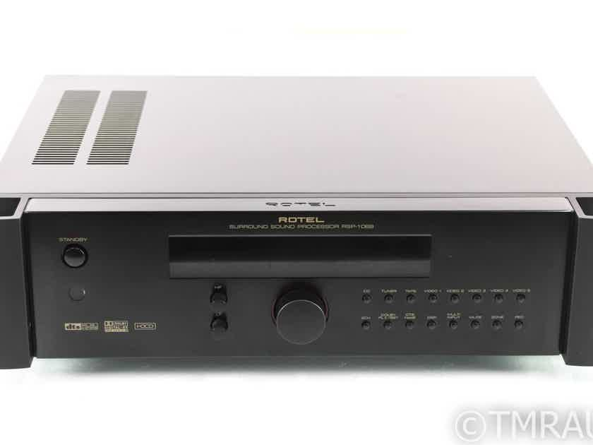 Rotel RSP-1068 7.1 Home Theater Processor; Remote; AS-IS (No output) (28485)
