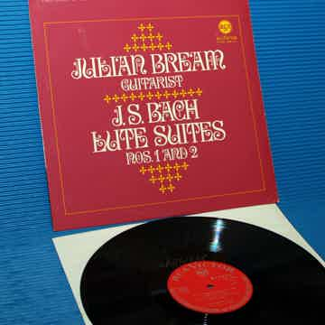 "JS BACH / Julian Bream   - "" Lute Suites 1 & 2"" -  RCA ..."