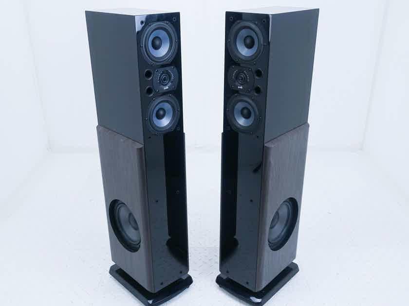 Polk LSi15 Floorstanding Speakers; LSi-15; Gloss Black Pair (17389)