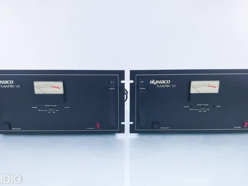 Dynaco Mark VI Mono Tube Power Amplifier; Vintage Pair (16203)