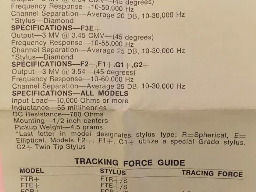 Grado M1+ / G1+ Stylus - NOS