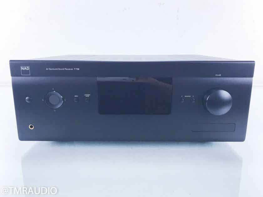 NAD T758 7.1 Channel Home Theater Receiver Preamplifier; T-758 (13431)
