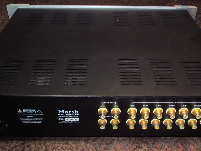 Marsh Sound Design P-2000t tube line stage preamp