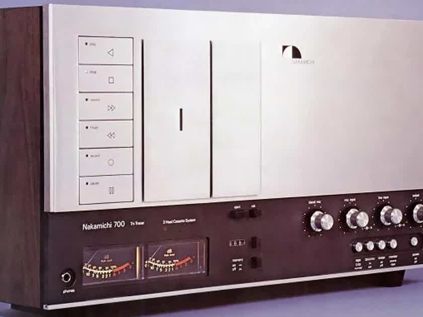 Nakamichi 700 Ii 3 Head Cette System