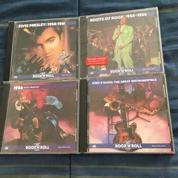 Cd lot of 4 cds 1 is sealed Elvis roots of 1956 axes saxes