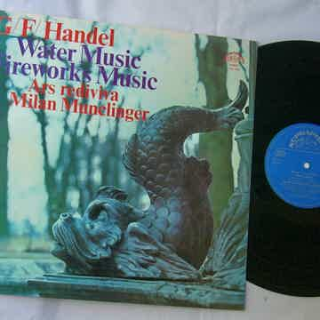 HANDEL LP--WATER MUSIC / FIREWORKS--