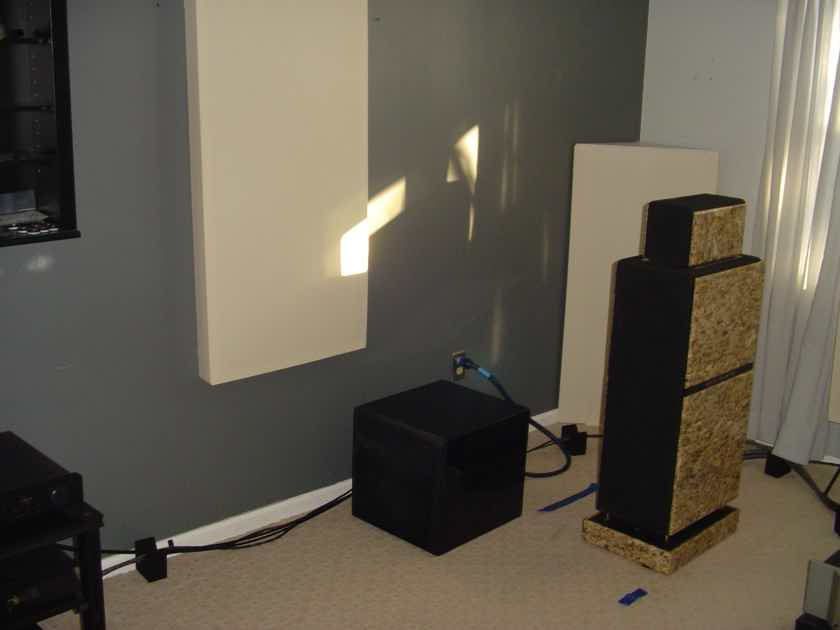 Mosaic Acoustics Illumination reference loud speakers-price reduced. Make an offer!