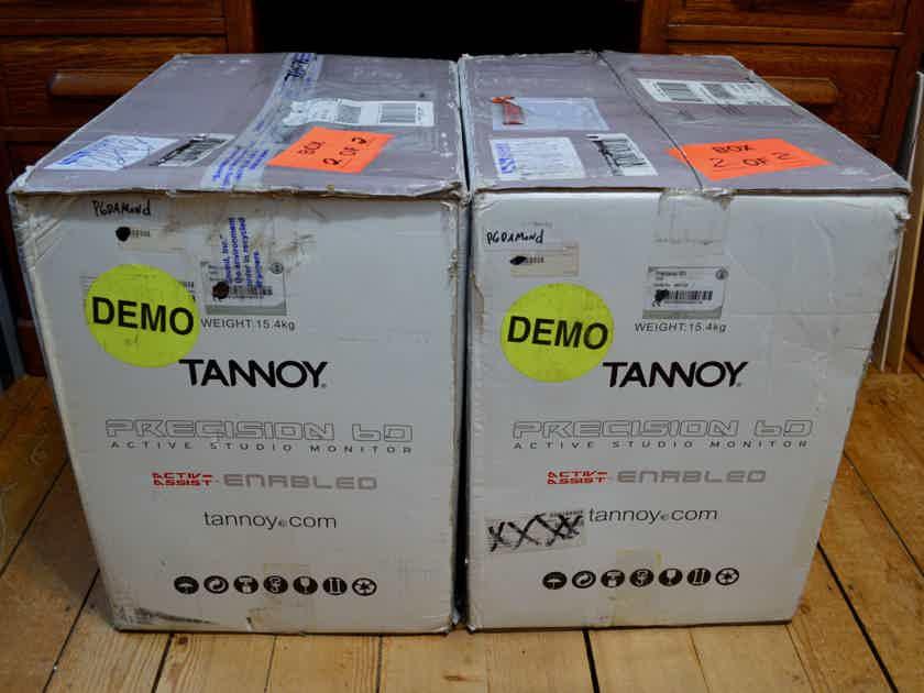 Tannoy Precision 6D Active Studio Monitor Dual Concentric Bi-Amplified