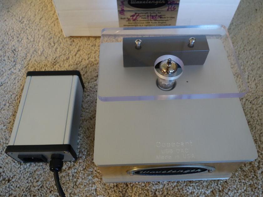 Wavelength Audio Cosecant USB DAC W/24-192 Denominator Module or upgrade to Quotient