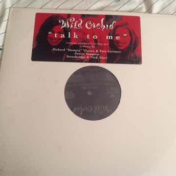 Wild Orchid Talk To Me RCA Records Double Vinyl Promo 1...