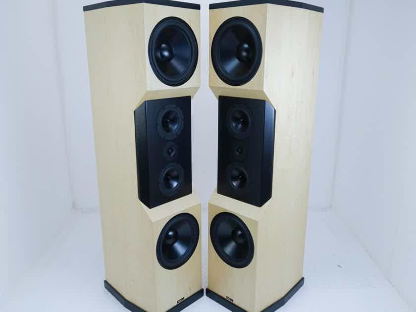 Tyler Acoustics D12X Studio Mastering Monitors / Speakers; Birch Pair (16143)