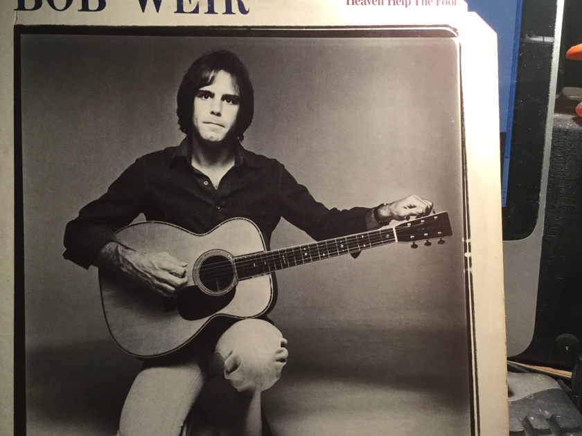 BOB WEIR - HEVEN HELP THE FOOL WHITE LABLE PROMO