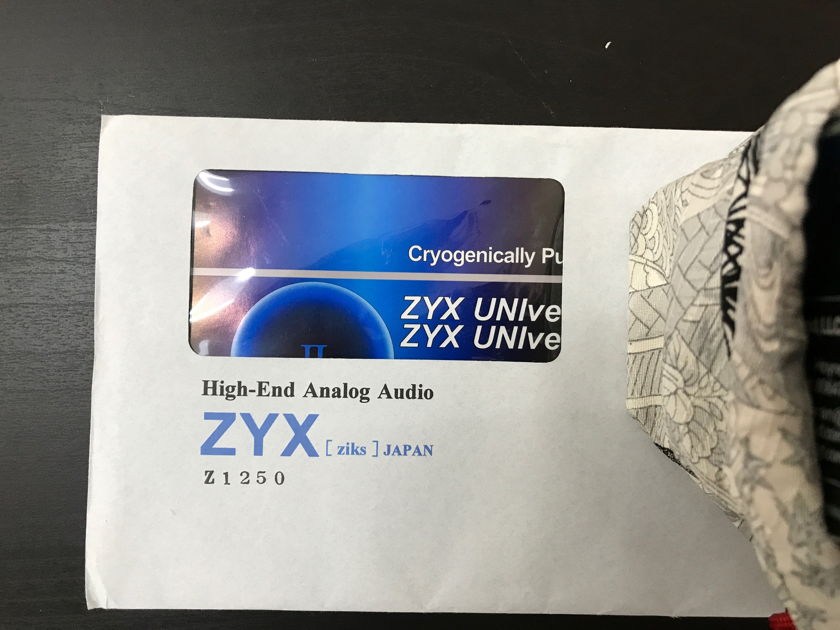 ZYX UNIverse II X (copper) version PRICE DROP  !!!! $3800 !!! ** $AVE BIG **