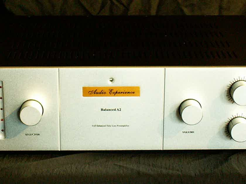 Audio Experience Balanced A2 line tube preamplifier