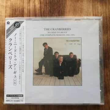 The Cranberries - No need to Argue Japan CD