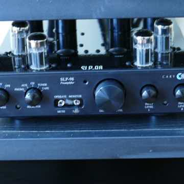 Cary Audio SLP 98L Preamp and 200.2 ES Power Amp