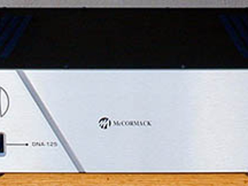 McCormack DNA-125, rare for sale!  Plus Upgraded with Nichicon Gold Tune/ Muse, Jantzen Caps & WBT! 48 state shipping.