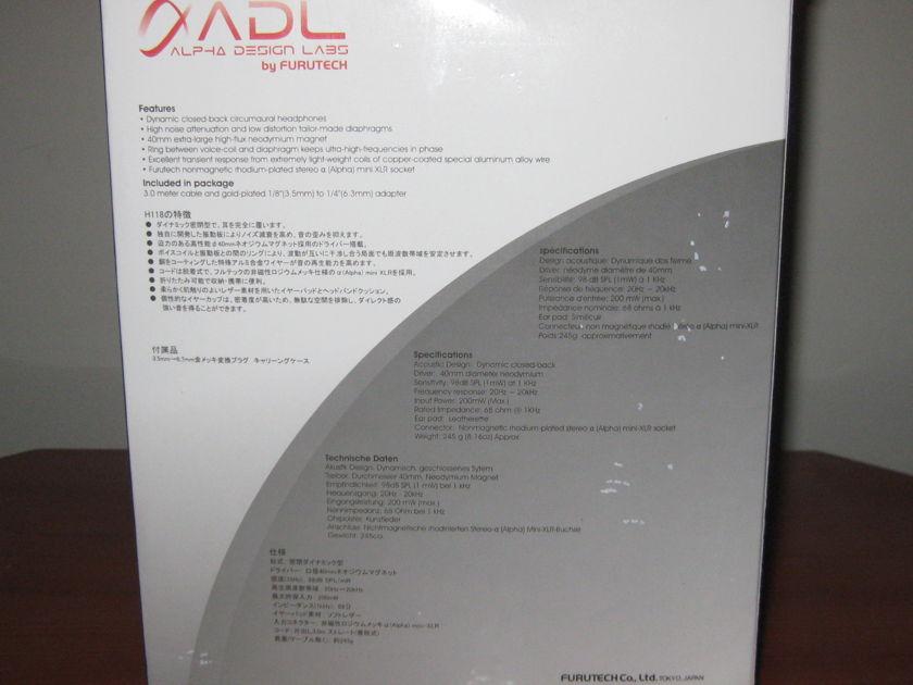 Alpha Design Labs ADL H118 Headphones.