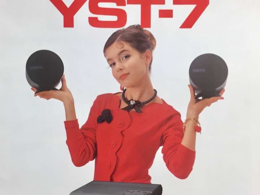 Yamaha YST-7 Tabletop Stereo System