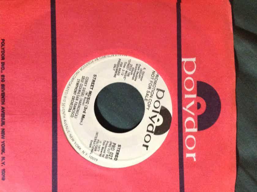 Corky Siegel/Seiji Ozawa - Street Music Promo 45 Single Vinyl NM Polydor Label