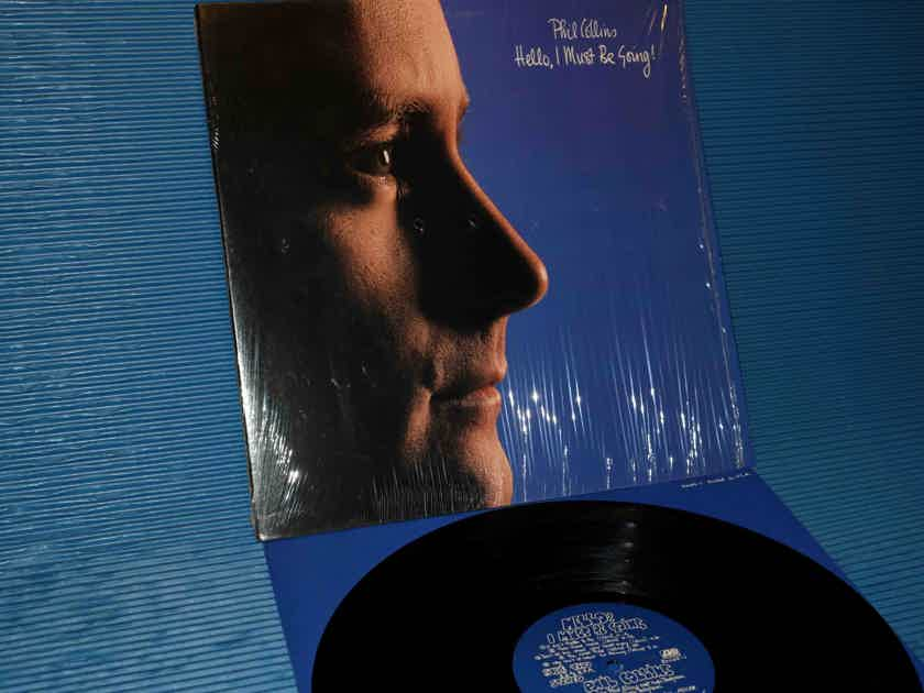 "PHIL COLLINS - ""Hello, I Must Be Going!"" -  Atlantic 1982 1st Pressing"