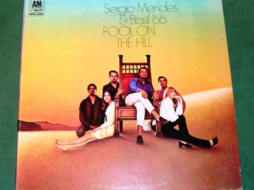 SERGIO MENDES & BRASIL '66 - ** FOOL ON THE HILL - A&M 1st PRESS GATE ** NM 9/10