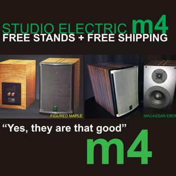 Studio Electric M4 Monitors Yes, they are that good!