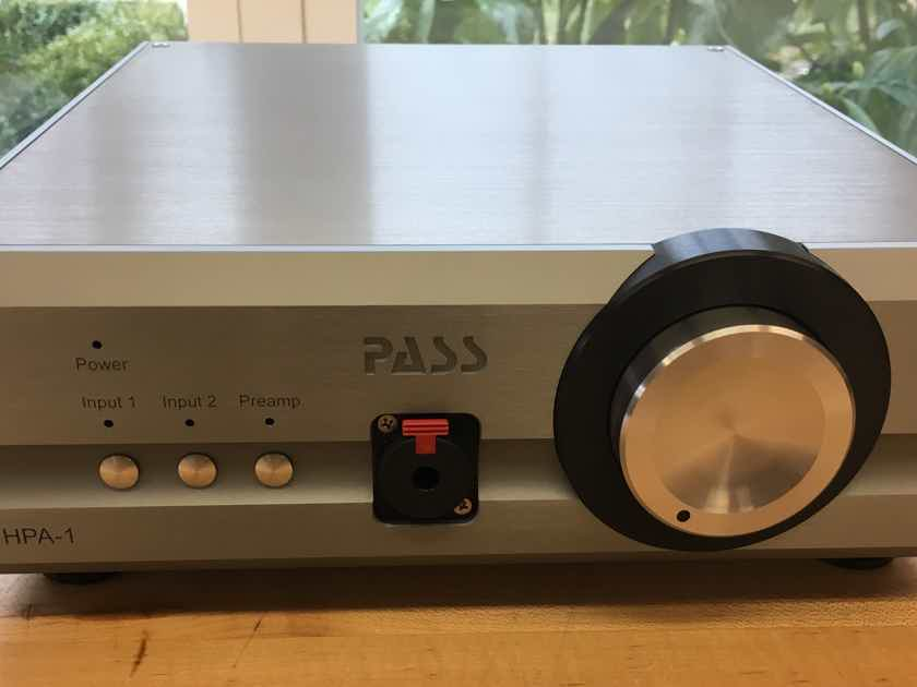 Pass Labs HPA 1  Preamp/Headphone Amp