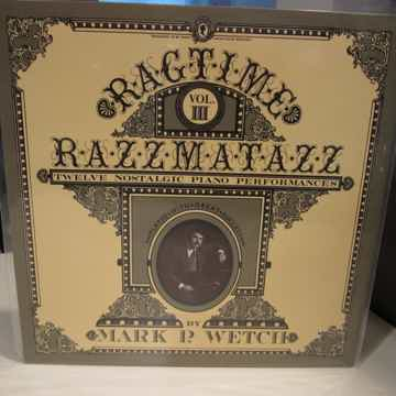 RAGTIME VOL. 3 WILSON AUDIO LP