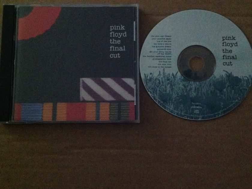 Pink Floyd - The Final Cut Columbia Records Compact Disc