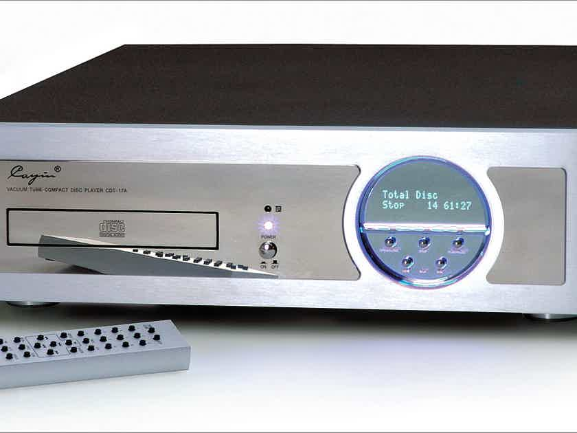 10/10 CAYIN CDT-17A Tube CD Player in absolute new conditions