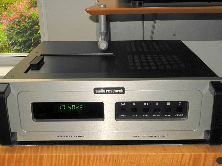 Audio Research Reference CD-7 Silver CD player