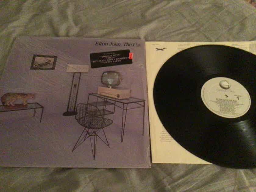 Elton John Rocket Records With Hyper Sticker  The Fox